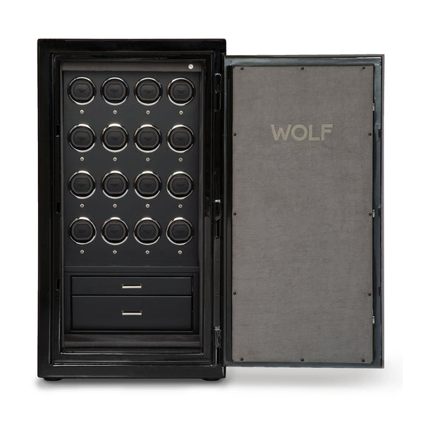 Wolf Atlas 16 Piece Onyx Safe Winder 491664 - Hamilton & Lewis Jewellery