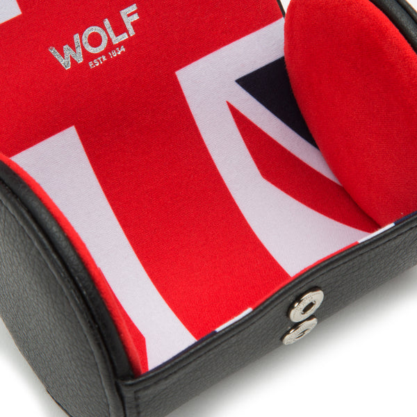 Wolf Single UK Flag Watch Roll 523203 - Hamilton & Lewis Jewellery