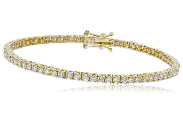 Claw set tennis bracelet 1.15ct - 18.46ct - Hamilton & Lewis Jewellery
