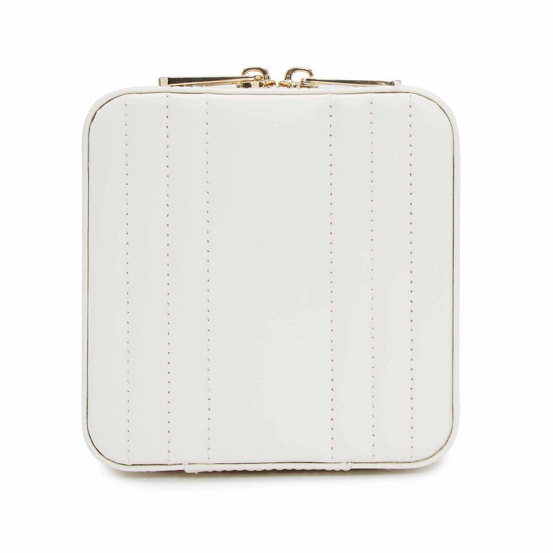 Wolf White Maria Small Zip Case 766253 - Hamilton & Lewis Jewellery