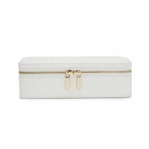 Wolf White Maria Medium Zip Case 766353 - Hamilton & Lewis Jewellery