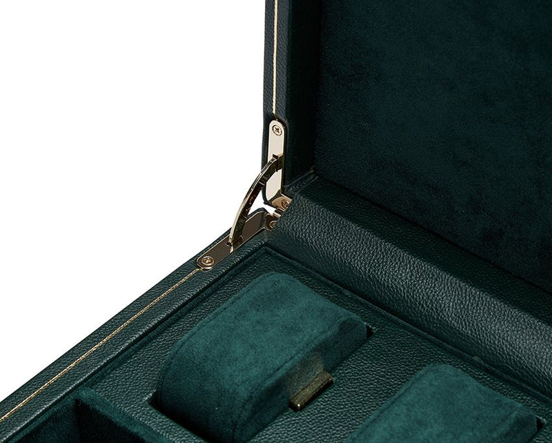 Wolf Single British Racing Green Winder with Storage 792141 - Hamilton & Lewis Jewellery
