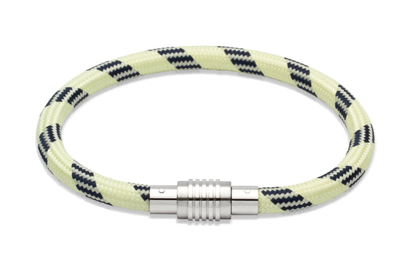 Unique & Co White Climbing Rope Bracelet B242WH - Hamilton & Lewis Jewellery