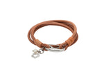 Unique & Co Ladies Natural Leather Bracelet B395NA - Hamilton & Lewis Jewellery