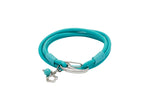 Unique & Co Ladies Turquoise Leather Bracelet B395TR - Hamilton & Lewis Jewellery