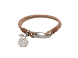 Unique & Co Ladies Natural Leather Bracelet B412NA - Hamilton & Lewis Jewellery