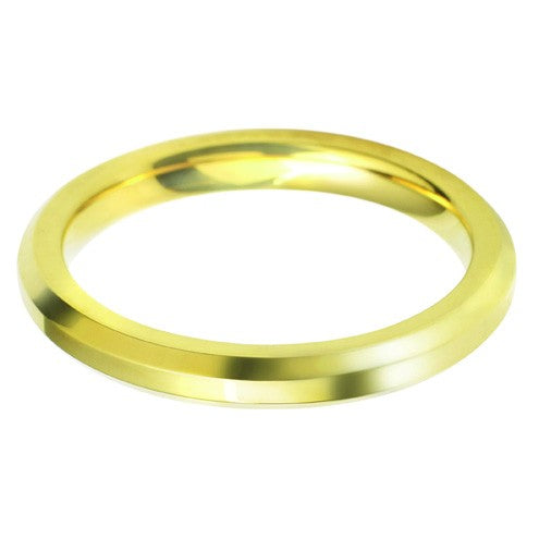 2.5mm Classic Bevelled Edge Shape - Hamilton & Lewis Jewellery