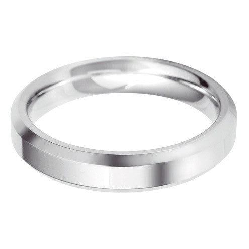 4mm Classic Bevelled Edge Shape - Hamilton & Lewis Jewellery