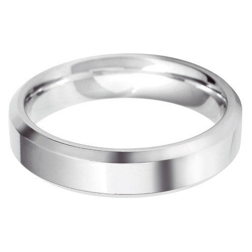 5mm Classic Bevelled Edge Shape - Hamilton & Lewis Jewellery
