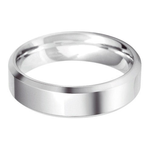 6mm Classic Bevelled Edge Shape - Hamilton & Lewis Jewellery
