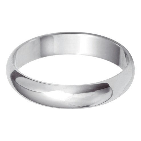 4mm Classic D Shape - Hamilton & Lewis Jewellery
