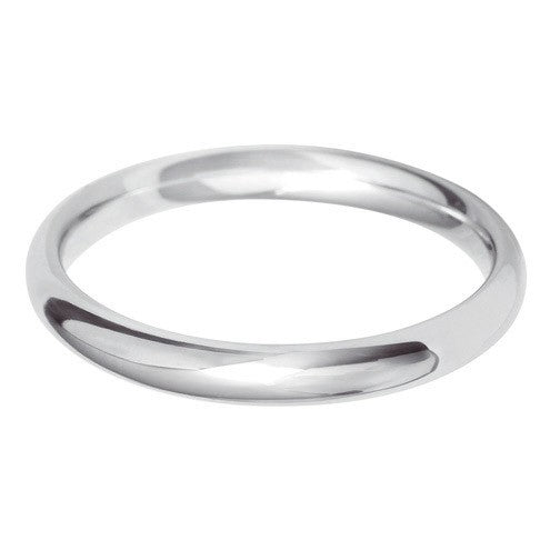 2.5mm Classic Paris Profile Shape - Hamilton & Lewis Jewellery