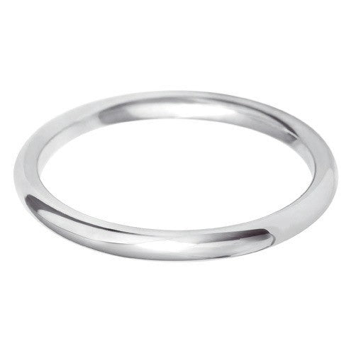 2mm Classic Paris Profile Shape - Hamilton & Lewis Jewellery
