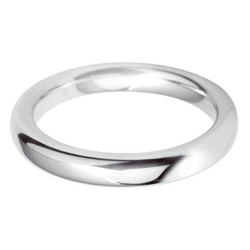 3mm Classic Heavy Court - Hamilton & Lewis Jewellery