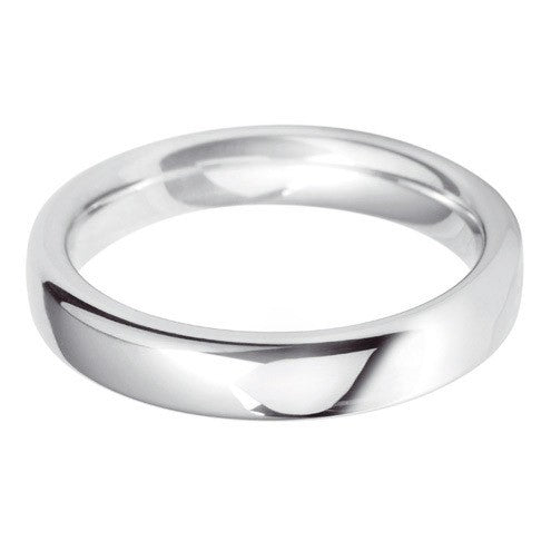 4mm Classic Heavy Court - Hamilton & Lewis Jewellery