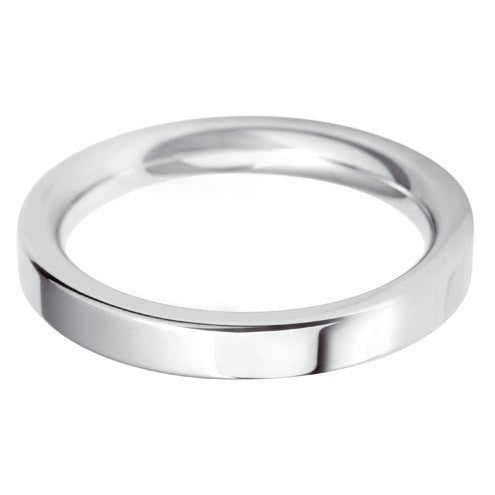 3mm Classic Heavy Flat Court - Hamilton & Lewis Jewellery