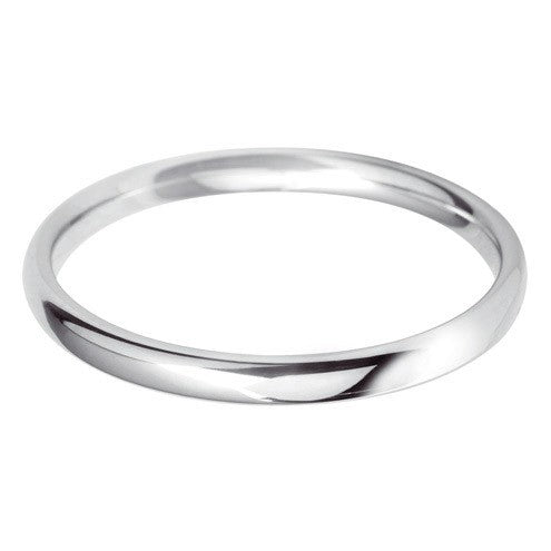 2.5mm Classic Court - Hamilton & Lewis Jewellery