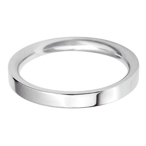 2.5mm Classic Flat Court - Hamilton & Lewis Jewellery