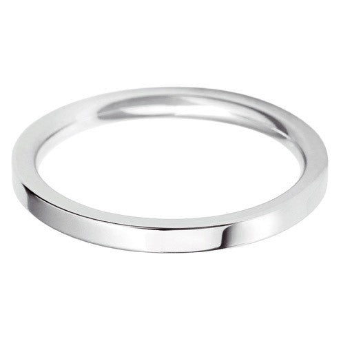 2mm Classic Flat Court - Hamilton & Lewis Jewellery