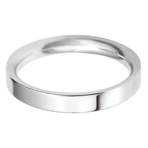 3mm Classic Flat Court - Hamilton & Lewis Jewellery