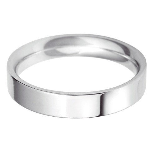 4mm Classic Flat Court - Hamilton & Lewis Jewellery