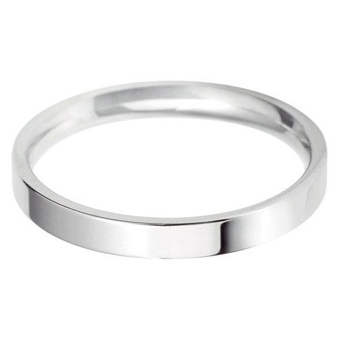 2.5mm Classic Light Flat Court - Hamilton & Lewis Jewellery