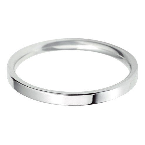 2mm Classic Light Flat Court - Hamilton & Lewis Jewellery
