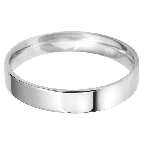 4mm Classic Light Flat Court - Hamilton & Lewis Jewellery