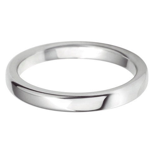 2.5mm Classic Rounded Flat - Hamilton & Lewis Jewellery