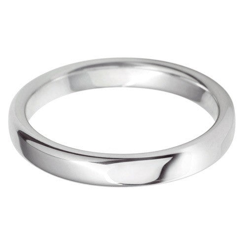 3mm Classic Rounded Flat - Hamilton & Lewis Jewellery