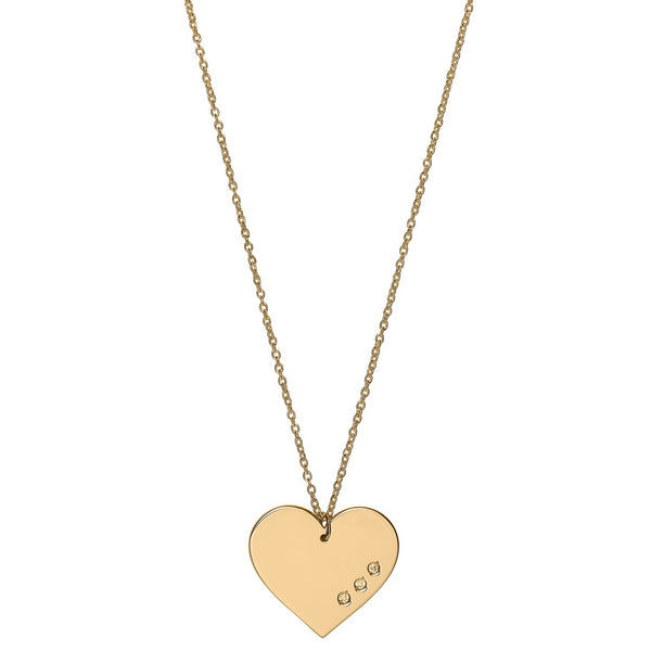 Unique & Co 9ct. Yellow Gold Necklace - DK-34 - Hamilton & Lewis Jewellery