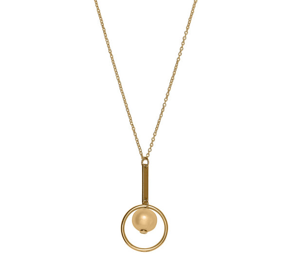 Unique & Co 9ct. Yellow Gold Necklace - DK-36 - Hamilton & Lewis Jewellery