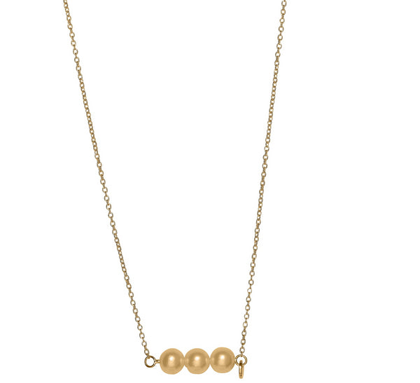 Unique & Co 9ct. Yellow Gold Necklace - DK-37 - Hamilton & Lewis Jewellery