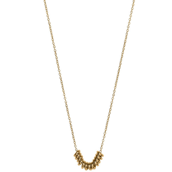 Unique & Co 9ct. Yellow Gold Necklace - DK-43 - Hamilton & Lewis Jewellery
