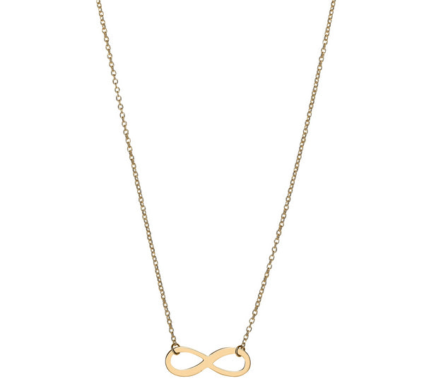 Unique & Co 9ct. Yellow Gold Necklace - DK-45 - Hamilton & Lewis Jewellery