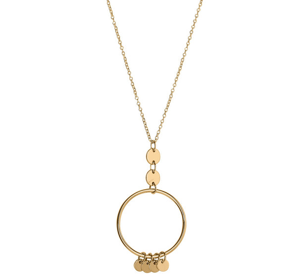 Unique & Co 9ct. Yellow Gold Necklace - DK-47 - Hamilton & Lewis Jewellery