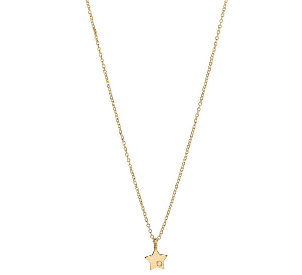 Unique & Co 9ct. Yellow Gold Necklace - DK-48 - Hamilton & Lewis Jewellery