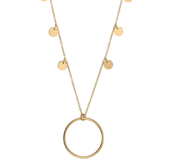 Unique & Co 9ct. Yellow Gold Necklace - DK-50 - Hamilton & Lewis Jewellery