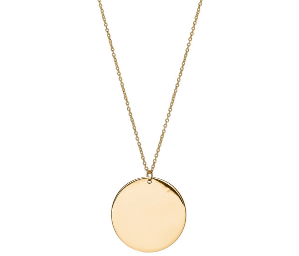 Unique & Co 9ct. Yellow Gold Necklace - DK-52 - Hamilton & Lewis Jewellery
