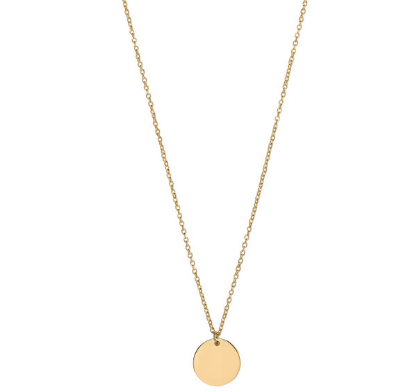 Unique & Co 9ct. Yellow Gold Necklace - DK-53 - Hamilton & Lewis Jewellery