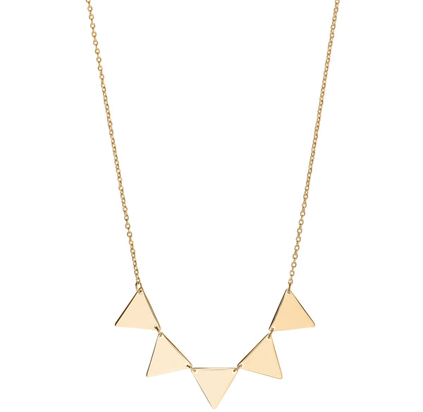 Unique & Co 9ct. Yellow Gold Necklace - DK-54 - Hamilton & Lewis Jewellery