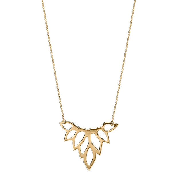 Unique & Co 9ct. Yellow Gold Necklace - DK-55 - Hamilton & Lewis Jewellery