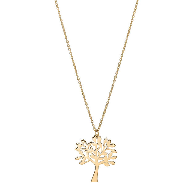 Unique & Co 9ct. Yellow Gold Necklace - DK-62 - Hamilton & Lewis Jewellery