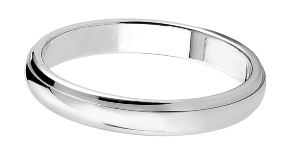 4mm Mens Ring with F03 finish - Hamilton & Lewis Jewellery
