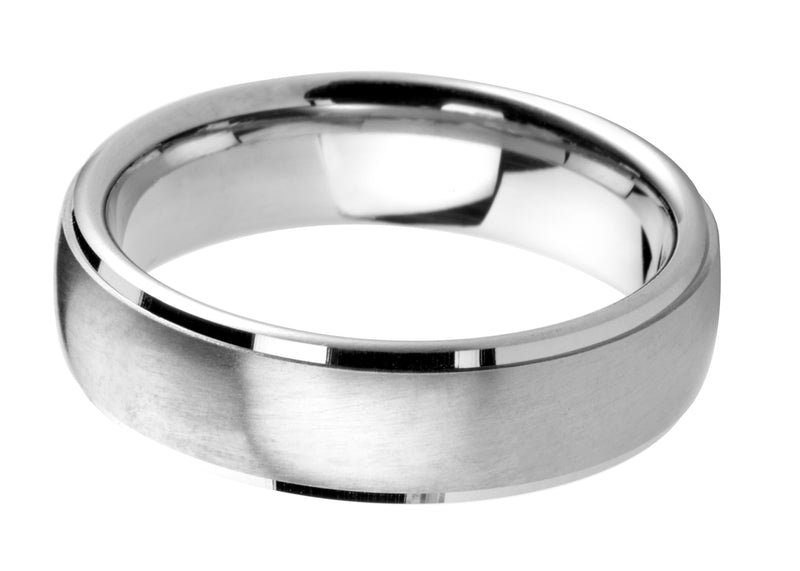 4mm Mens Ring with F04 finish - Hamilton & Lewis Jewellery