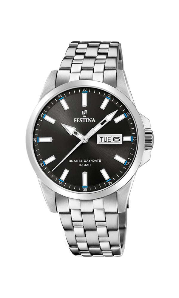 Festina Mens Watch F20357/2 - Hamilton & Lewis Jewellery