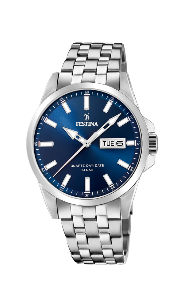 Festina Mens Watch F20357/3 - Hamilton & Lewis Jewellery