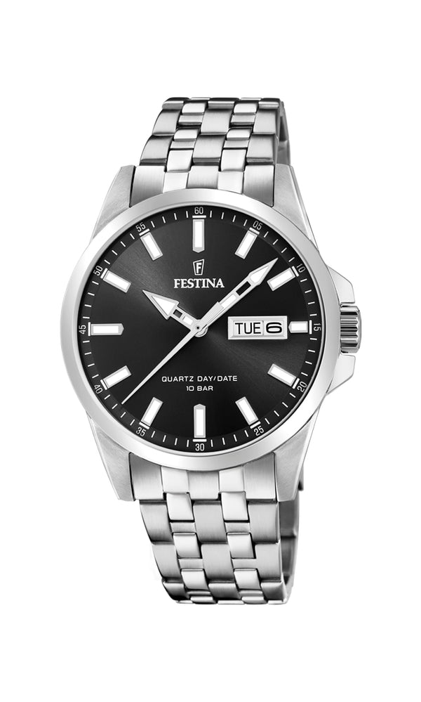 Festina Mens Watch F20357/4 - Hamilton & Lewis Jewellery