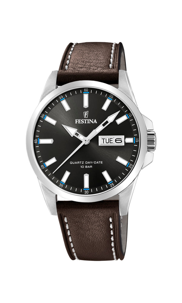 Festina Mens Watch F20358/1 - Hamilton & Lewis Jewellery