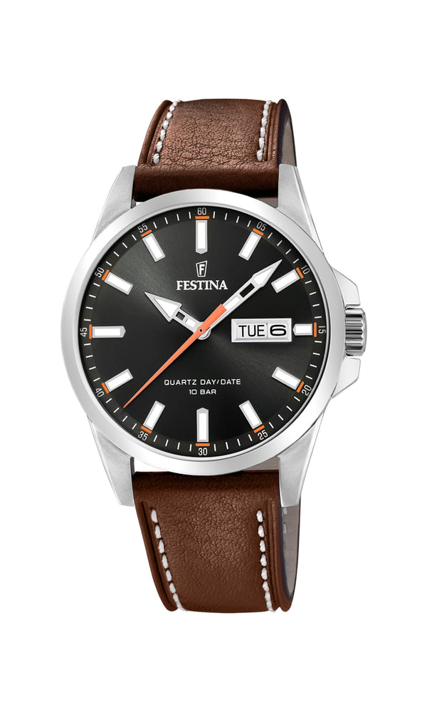 Festina Mens Watch F20358/2 - Hamilton & Lewis Jewellery